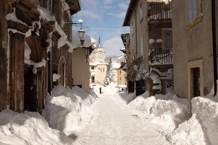 Neve | Pescocostanzo, Il borgo incantato
