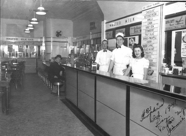 109 best ideas about MALT SHOP/SODA FOUNTAIN/ LUNCHEONETTE on ...