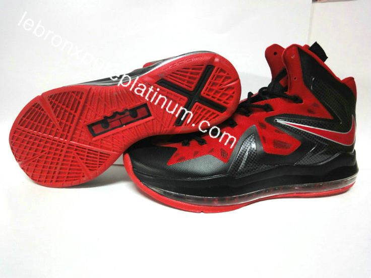 an aesthetic appreciation of the Nike LeBron X Elite Anthracite Sport Red  Bright Crimson