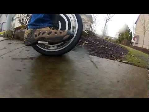 Electronic self stabilising unicycle from Focus Designs