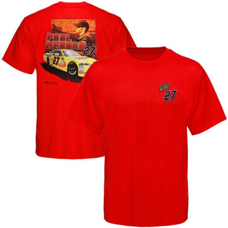 Chase Authentics Paul Menard Drive T-Shirt - Red