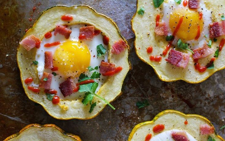 Acorn Squash Egg-in-the-Hole | Recipe http://ift.tt/2xYmWc0  Nutrient-rich squash replaces toast in this seasonal twist on a classic from The Roasted Root. Crumbled bacon adds a smoky flavor without many additional calories but a spoonful of salsa is a convenient meat-free alternative.  Print  Ingredients:  1 large acorn squash  Olive oil  Sea salt  4 large eggs  2 slices bacon cooked and crumbled  Sriracha or hot sauce to taste for serving  Directions:  Preheat the oven to 425F.  Chop the…
