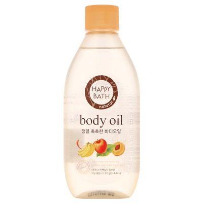 Увлажняющее масло для тела с фруктовыми экстрактами HAPPY BATH Natural Real Body Oil