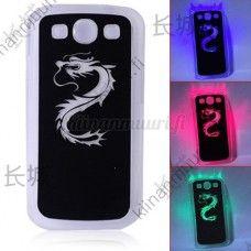 Väriä vaihtava lohikäärme LED-suojakuori, Samsung Galaxy S3