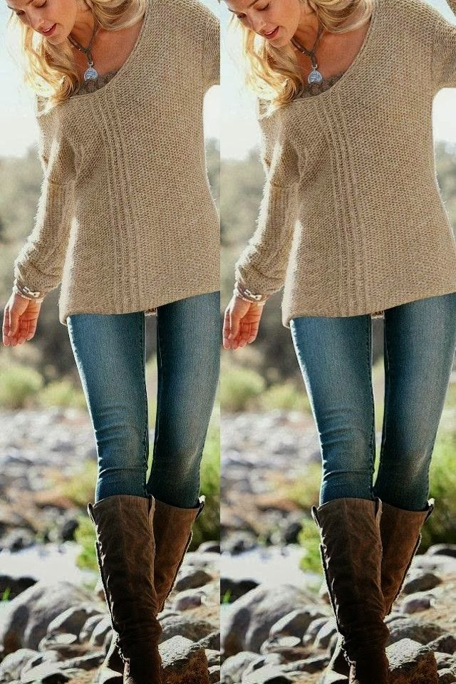 Ugg Grey Sweater Boots