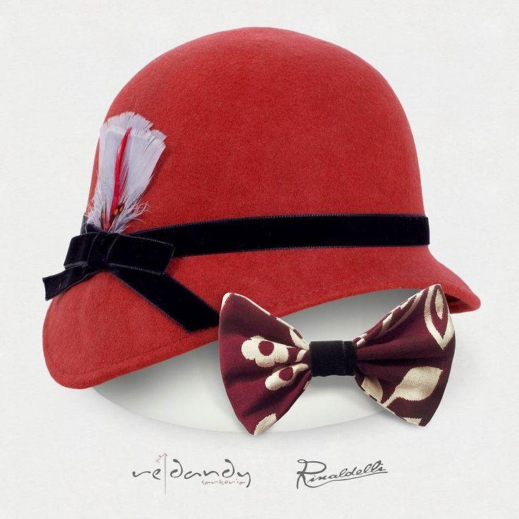 Cloche anni '20 con piuma @rinaldelli1930 e Pappillon sartoriale @redandysartoria in coordinato Scopri gli altri coordinati su www.redandy.it #rinaldelli #fascinator #instagood #instadaily #instalike #madeinitaly #arte #artigianato #artigian #cappello #hat #style #fashion #womenfashion #instaitalia #accessories #papillon #street #dandy #vintage #hipster #mensfashion #menswear by rinaldelli1930