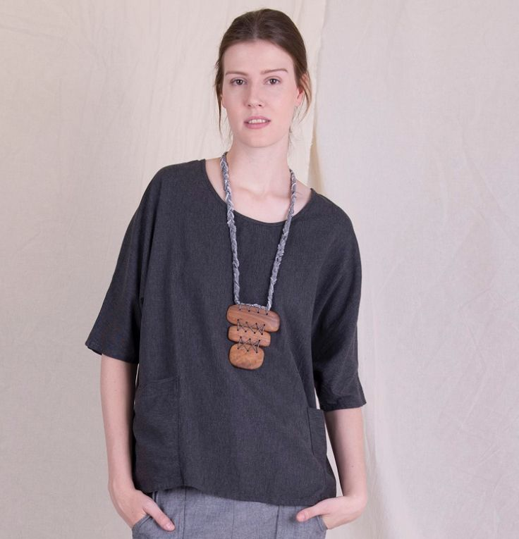 West Village Tunic Top with pockets