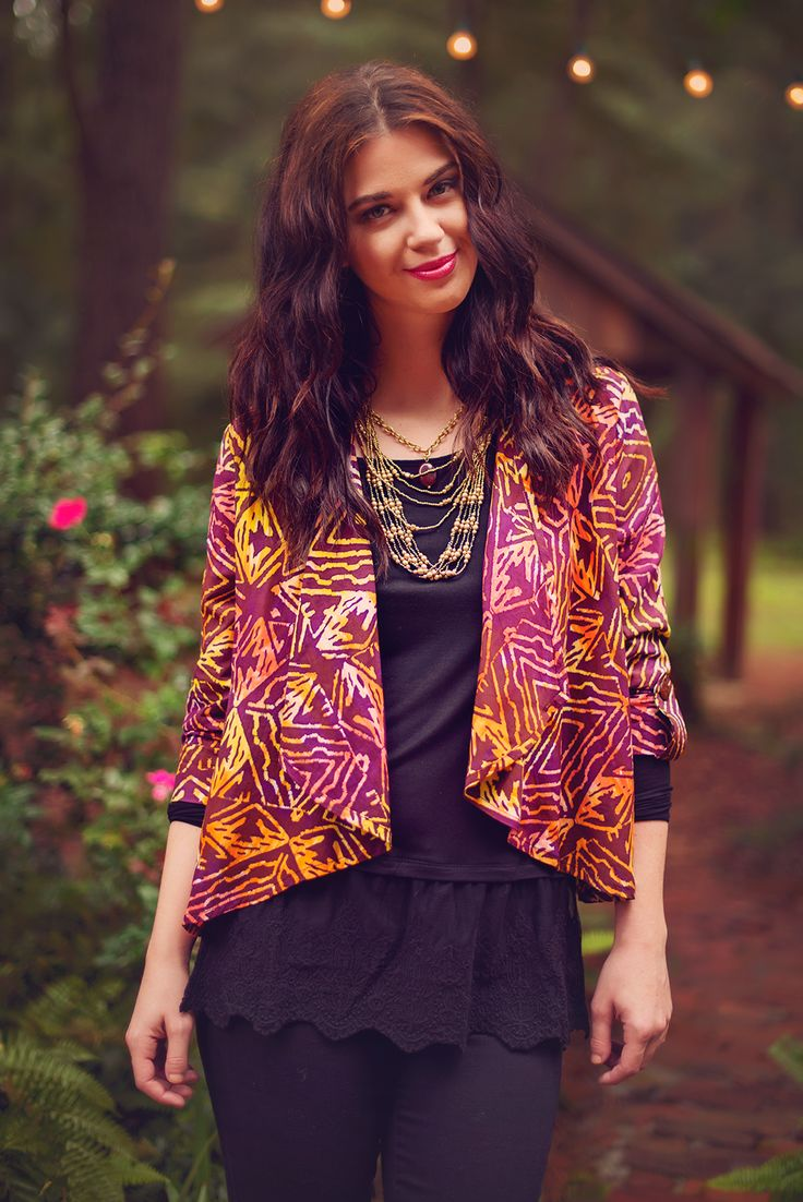 Fall Spice Batik Jacket – Go Fish Clothing & Jewelry Company