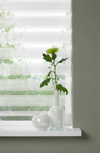 Speel met licht door raambekleding....