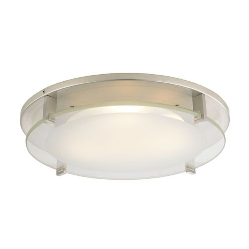 Recesso Lighting by Dolan Designs Modern Decorative Recessed Ceiling Light Trim with Frosted Glass | 10488-09 | Destination Lighting