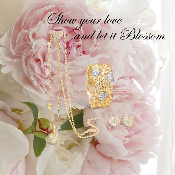 www.blossomcopenhagen.com or www.houseofjew.com Danish jewellery collection, designed by Christina Elbro Lihn - show your love, and let it Blossom