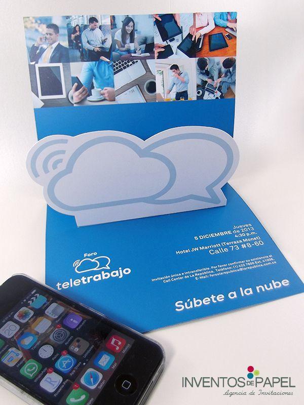 Invitación Evento Empresarial Teletrabajo