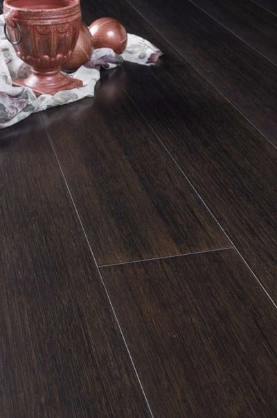 Bamboo Engineered Hardwood Floor Stained Ebony Us Floor