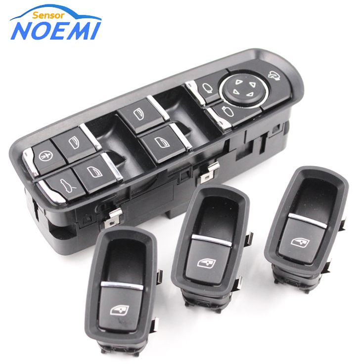 Free Shipping New Front Door Master Window Switch For Porsche Panamera Cayenne 7pp959858mdml