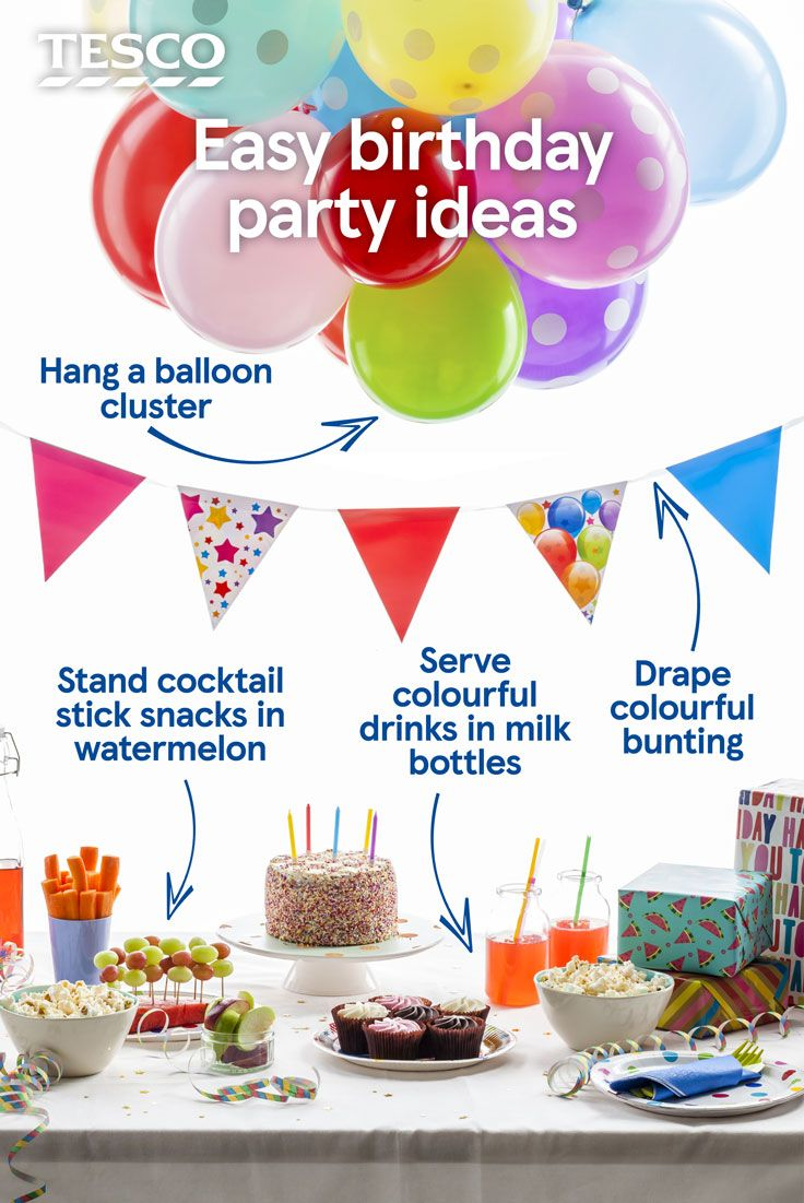 17 best Kids Party Tesco images on Pinterest Party recipes