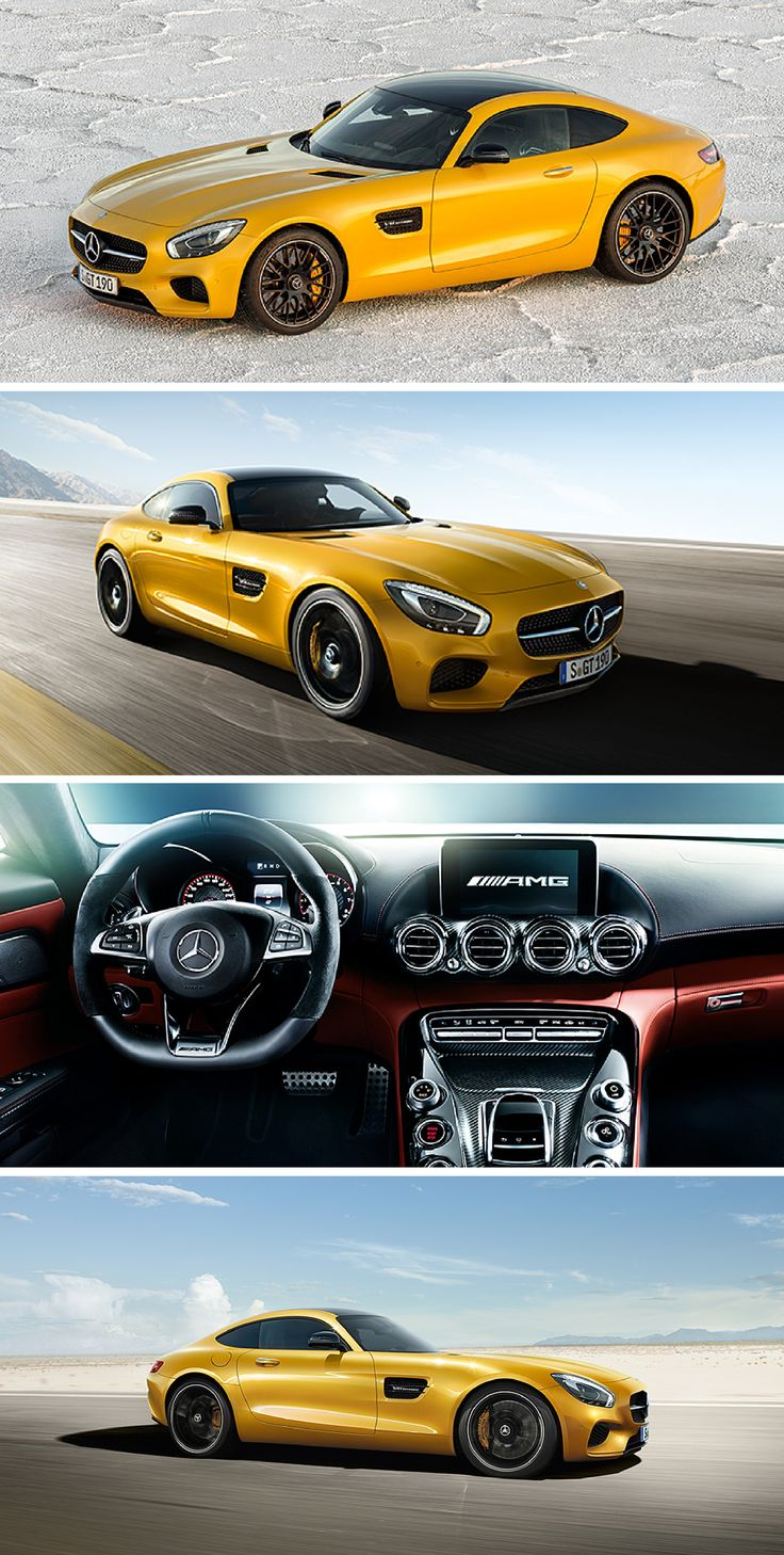 The new mercedes amg gt is handcrafted by racers and the driving performance is