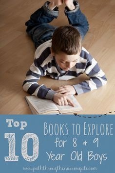 Here's a great list of enjoyable books selected just for 8 and 9 year old boys!