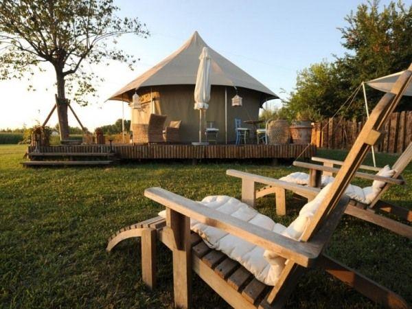 mirano campingplatz glampen italien zelt luxus
