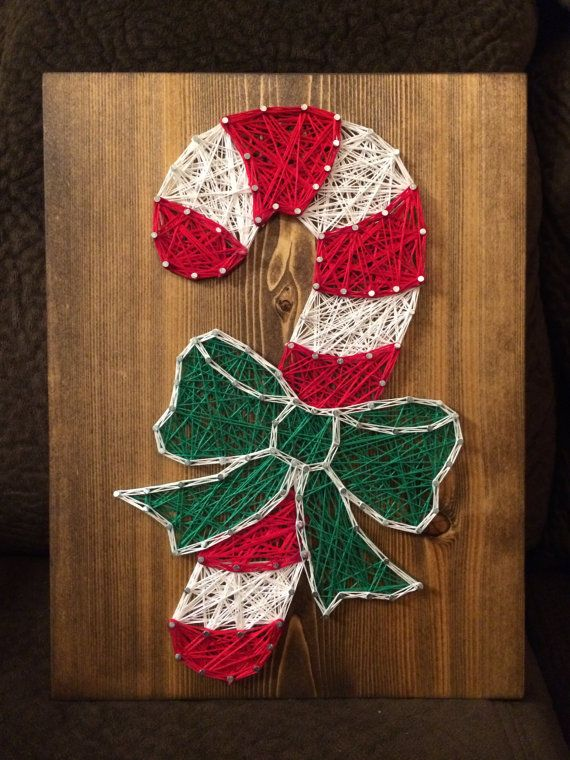 Hey, I found this really awesome Etsy listing at https://www.etsy.com/listing/256079280/candy-cane-string-art
