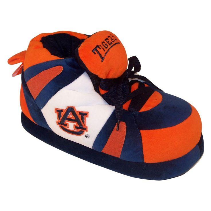 Comfy Feet NCAA Sneaker Boot Slippers - Auburn Tigers - AUB01LG