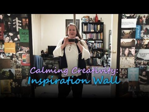 Inspiration Wall- Calming Creativity #1 with The Serenity Oracle