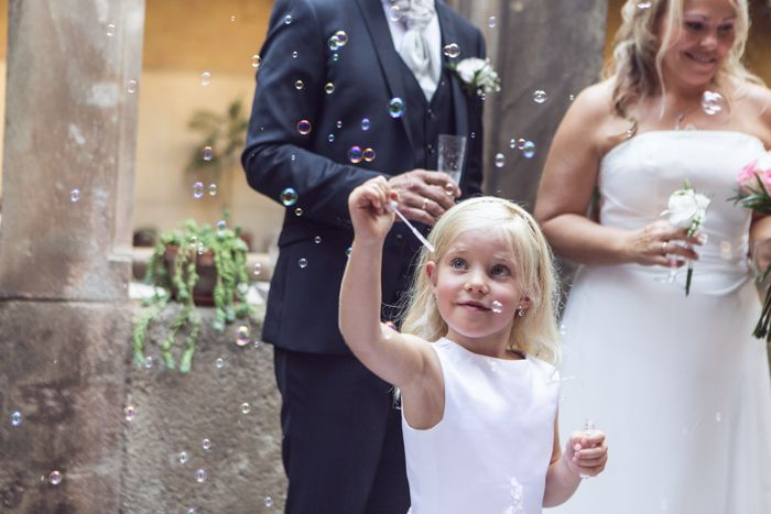 "Norwegian wedding in Barcelona (September 2014) ""Soap bubbles"""