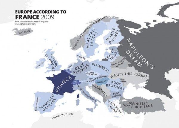 Maps Stereotypes From Around The World by Yanko Tsvetkov