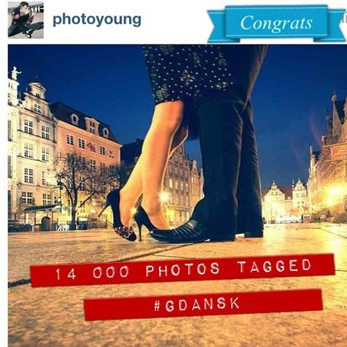 31.12.2012 14 000 photos with #Gdansk tag. Congrats to all #igers and @photoyoung #igersgdansk #igerspoland  #poland #gdańsk #ingdansk #pomorskie #beautiful #instamood #instagramers  (at Długi Targ)