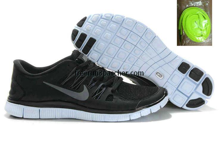 new arrivals a3bac 157b6 ... Silver buy cheap Pas Cher Nike Free Run+ 4 Hommes couleur noire Dark  Gris Blanc Metallic argent Nike Free Run+ 3 Womens Running Shoe ...
