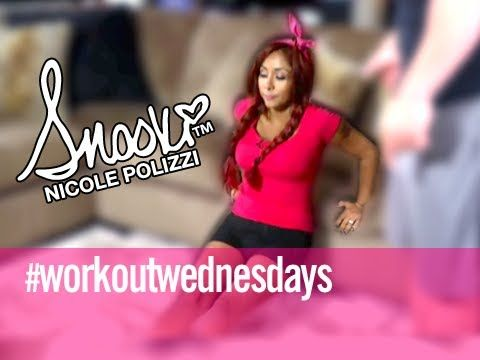 ▶ Upper Body Push - Workout Wednesday Home Edition w/ Snooki - YouTube