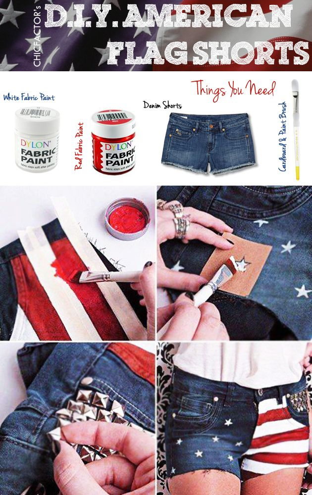 Here's how you can recycle old denim shorts! #DIY
