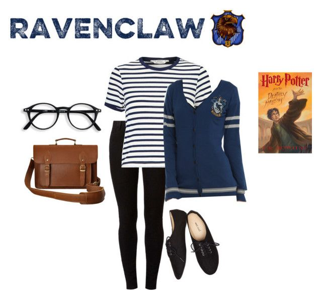 """""""Ravenclaw outfit """" by jinx-d ❤ liked on Polyvore featuring Dorothy Perkins, Miss Selfridge, Warner Bros. and Wet Seal"""