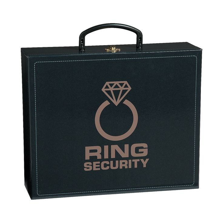 Ring Bearer's Security Case -OrientalTrading.com