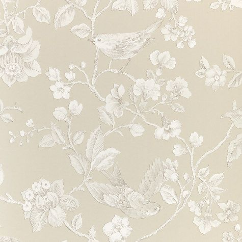 Buy John Lewis Nightingales Wallpaper Online at johnlewis.com