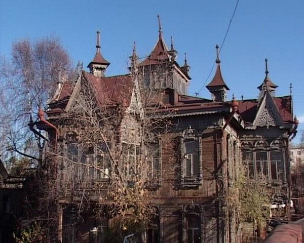 Tomsk, firebird house
