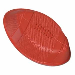 """Football Tray Plastic 12"""". This Serving Tray can also be used as a wall decoration."""