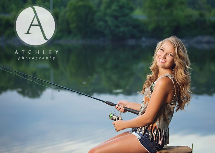I really enjoy fishing and would love to do this for a senior pic