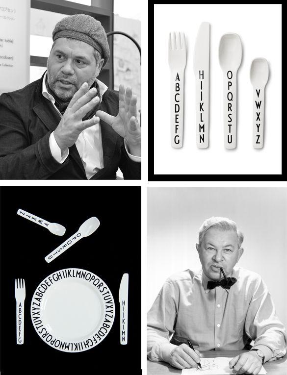 Designletters forener to stærke designere: Arne Jacobsen og Tobias Jacobsen - Boligcious