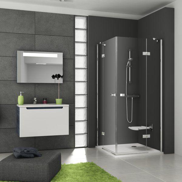 Kwadratowa narożna kabina prysznicowa Ravak SmartLine