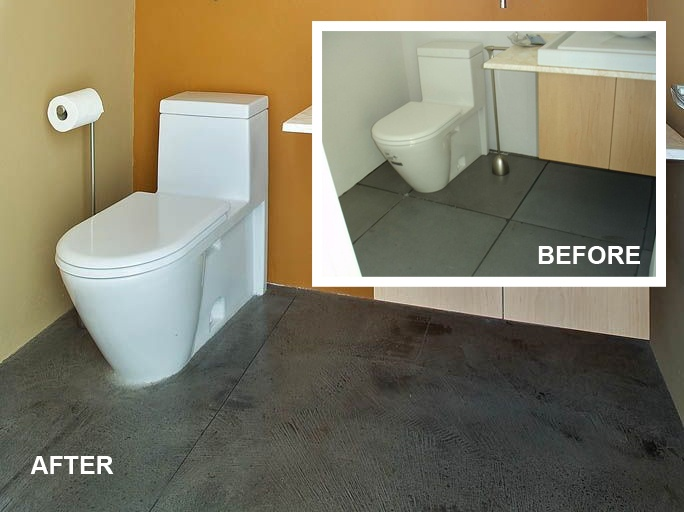 Remodel Bathroom Without Removing Tile 76 best residential remodel without removal images on pinterest
