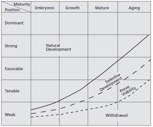 Industry maturity