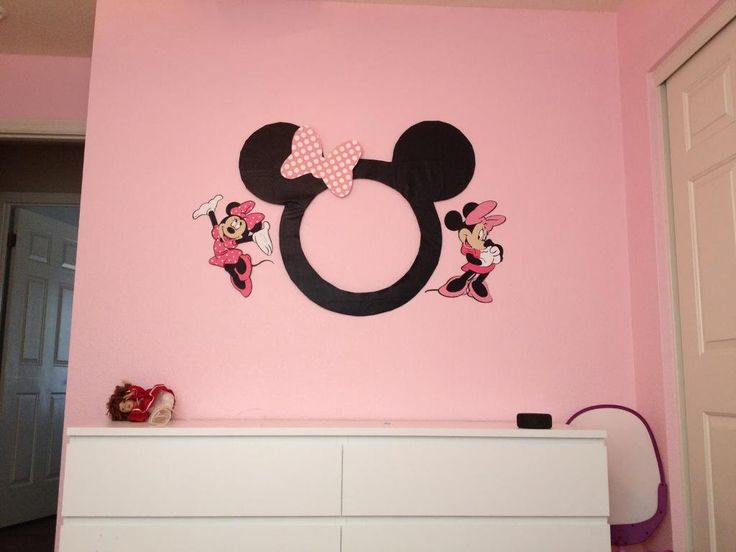 67 best Minnie Mouse Bedroom images on Pinterest | Bedroom ideas ...