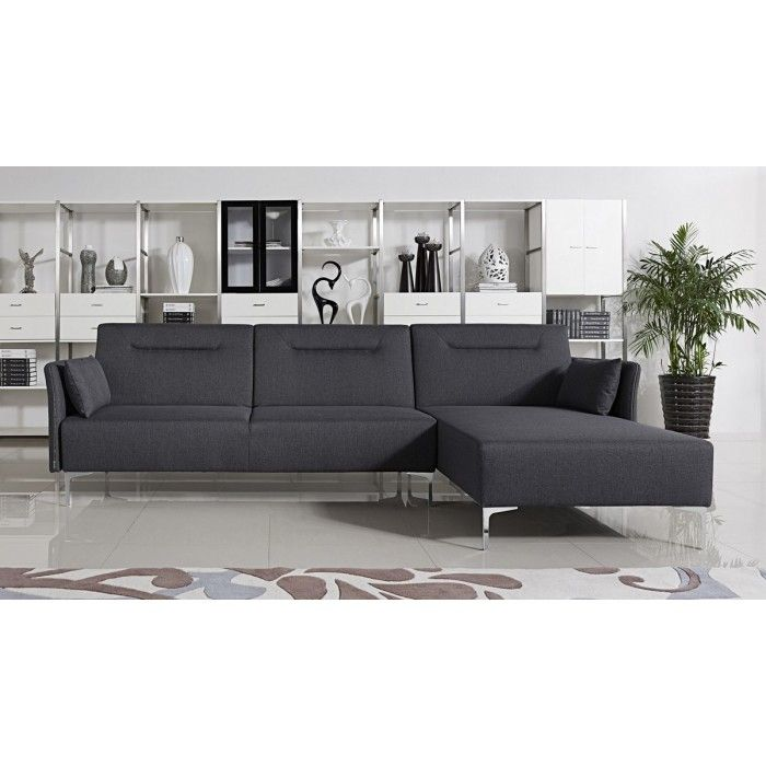 This Is A Simple Yet Beautiful Dark Sofa With A Fabric Finish. This Elegant  Sofa