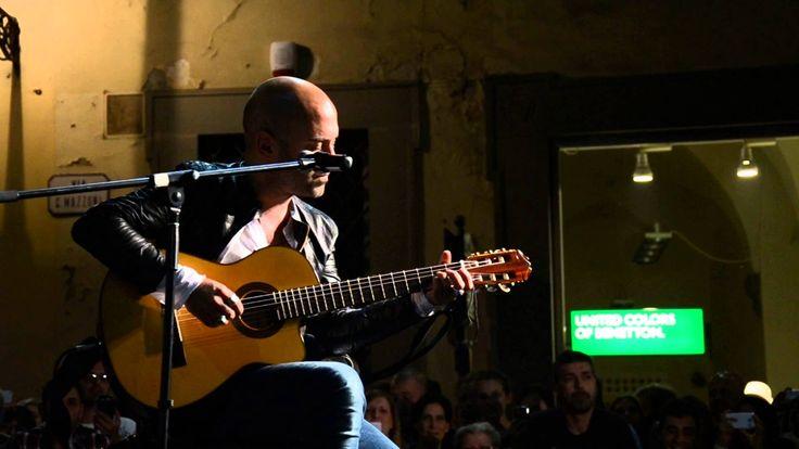 Solo 3 min (live Prato) - Giuliano Sangiorgi acustico HD