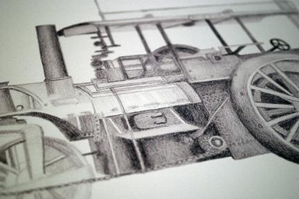 Custom artwork by Karen McDowell of Relish Entertainment for musician Jim Messina, via Behance