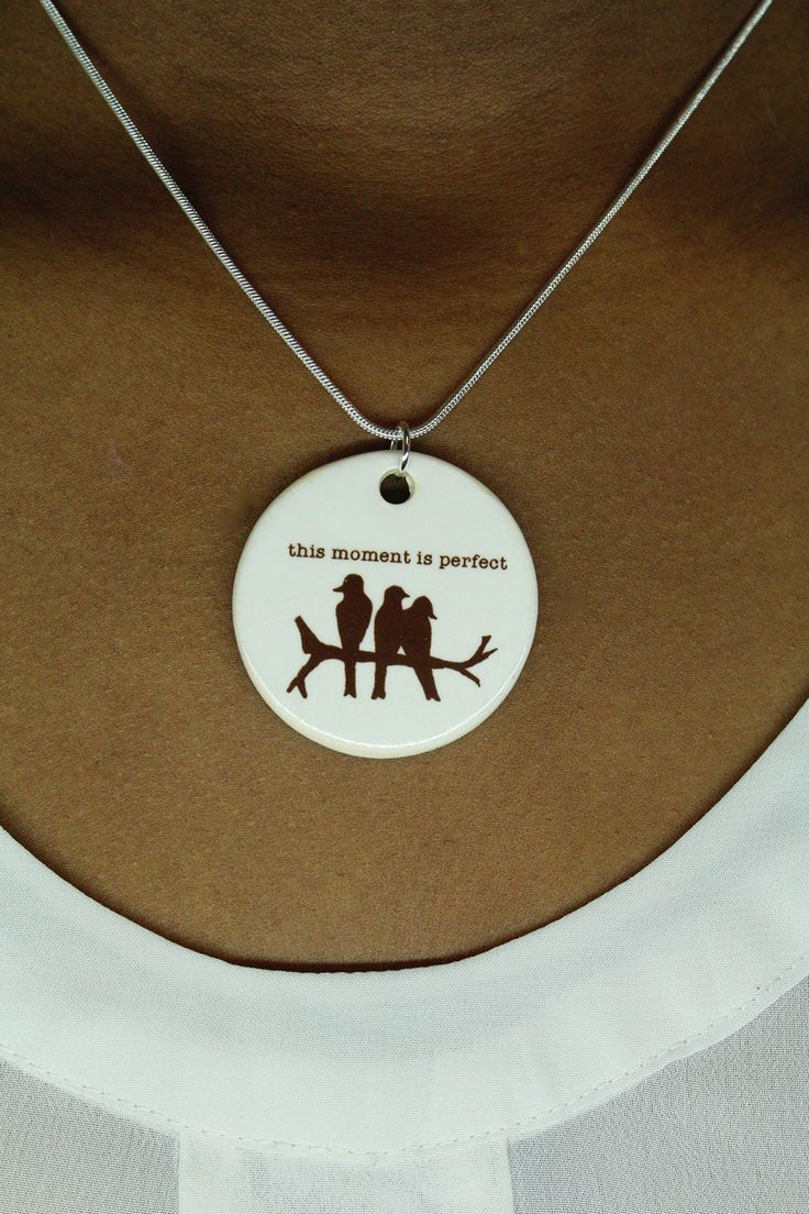 Dotti Potts This Moment Is Perfect Necklace handmade in Canada.
