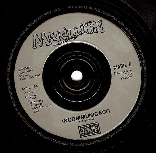 Buy the Marillion Incommunicado vinyl at Planet Earth Records. This classic Marillion 7 inch vinyl comes with 2 tracks & is available online in great condition. http://www.planetearthrecords.co.uk/marillion-incommunicado-vinyl-record-7-inch-emi-1987-38462-p.asp | £3.99
