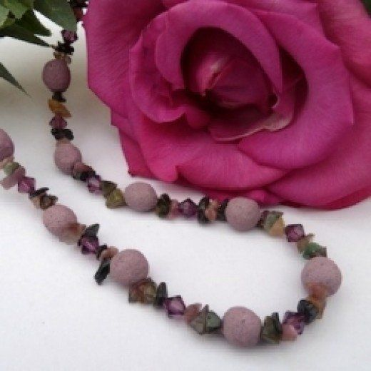 Making beads from roses is a wonderful way to keep special flowers with you forever.  It takes some patience, but the results are lovely to wear yourself or give to a friend.
