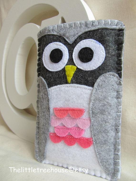 #iphone4 #sleeve, #owl #cute # kawaii
