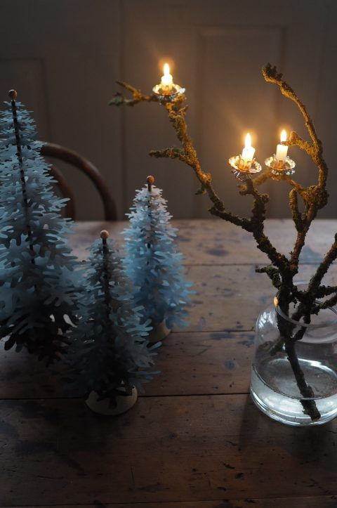 Nordic Winter Mood collection of DIY paper art decorations for Christmas